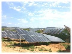 河南南阳49MW地面光伏电站项目